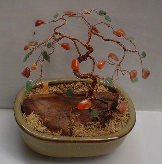A Finished Gem Tree