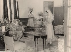 Sisters in Nurses home
