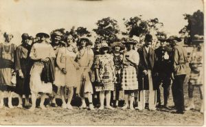 Fancy dress 1920's