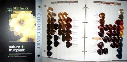 Skillmax Colour Chart