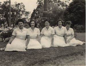 Office staff 1950's