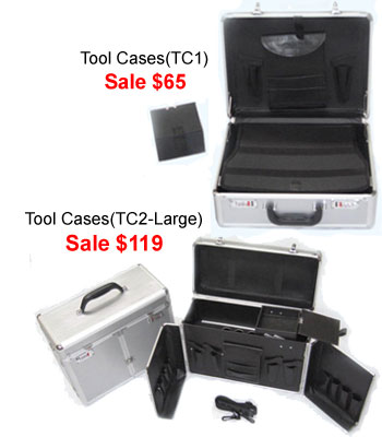 Hairdressing and Beauty Tool Cases