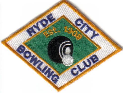 Ryde City Bowling Club Badge