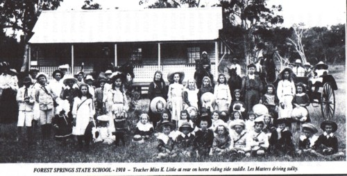 Forrest Springs State School 1910