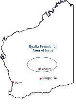 General Map of Ngalia Lands