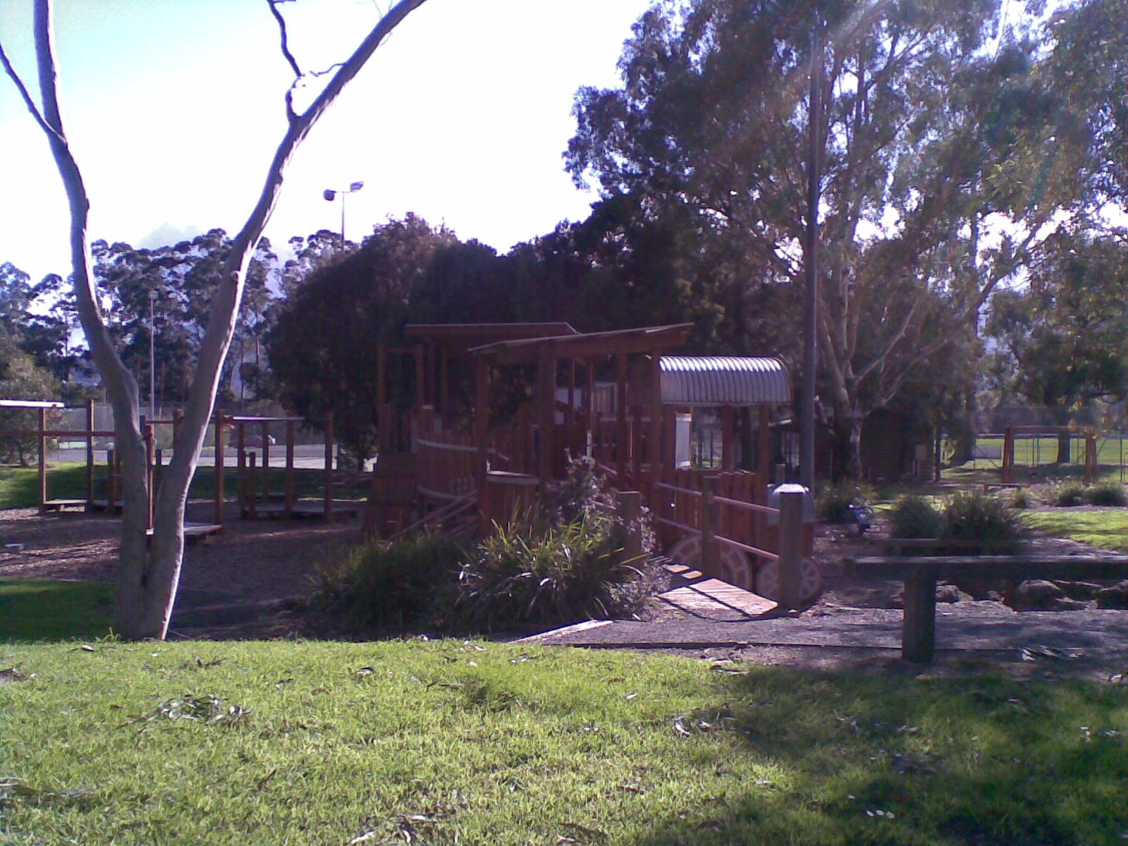 Playground with Gazebo and BBQ's