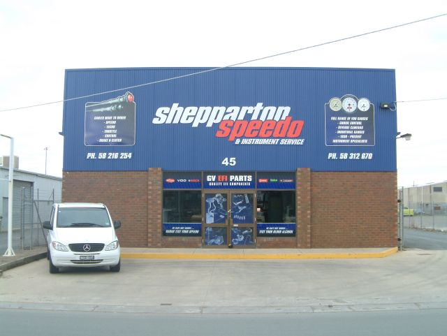 NEW SIGNAGE SECOND TRADING NAME GV EFI PARTS