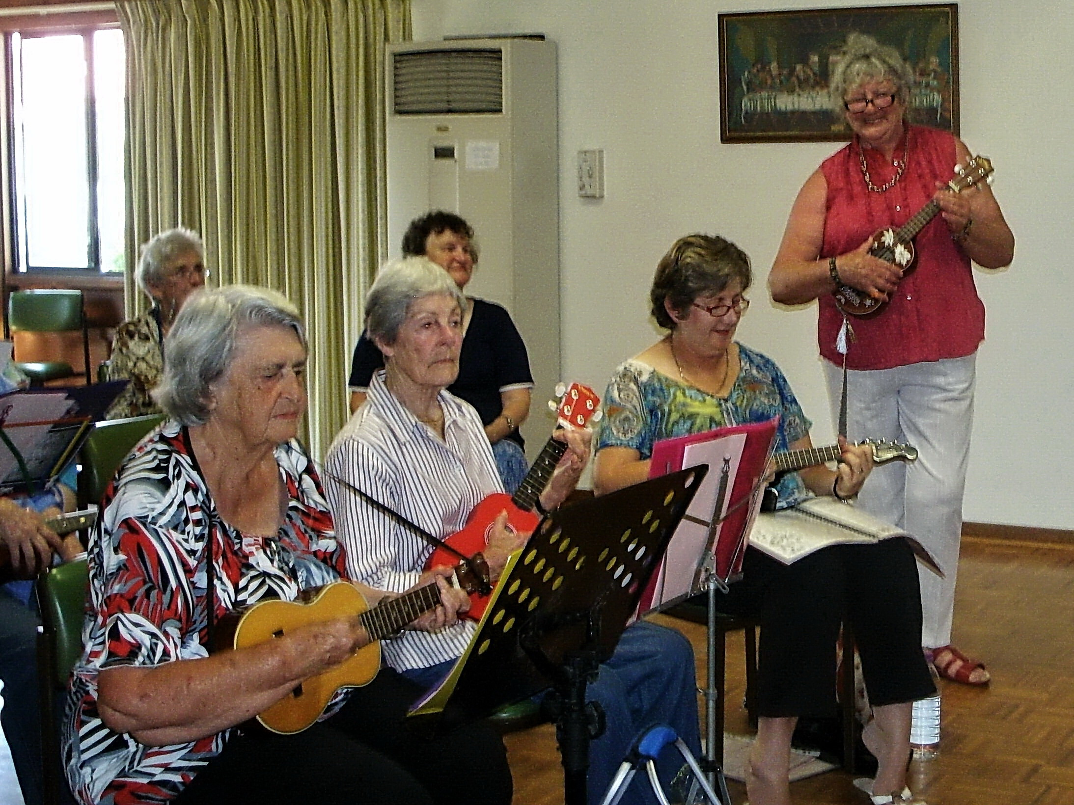 U3A Ukaladies entertaining at Cooinda