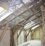 Foil under roof sheeting
