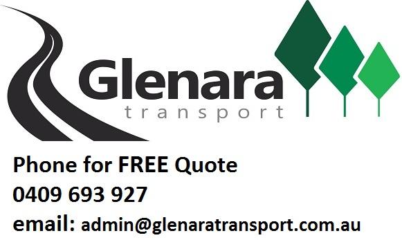 Glenara Transport FREE Quote 0409 693 927