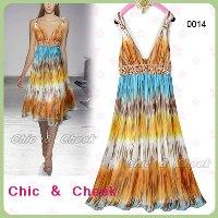 summer dress lovely chic cheek