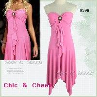 hot pink club wear