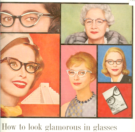 glasses of the fifties