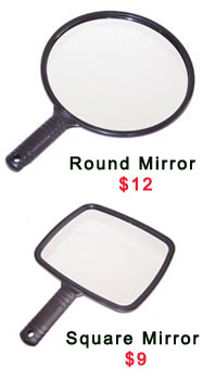 Mirrors - Round or Square