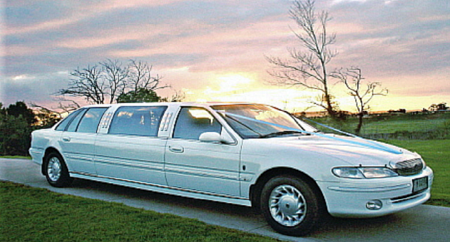 Wedding Car at Sunset Bairnsdale East Gippsland Victoria