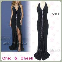 gown formal black