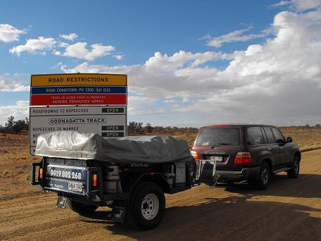 Camel camper trailer