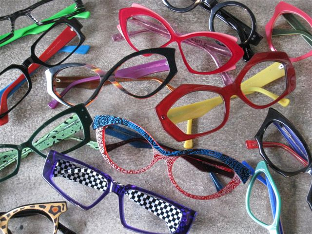 selection of funky design spex