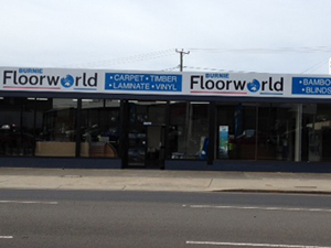 Burnie Floorworld Signage