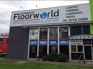 downrite floorworld signage