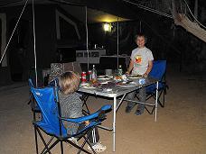 Camping at Coward Springs