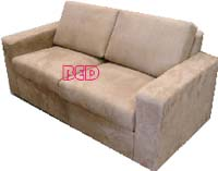 2.5 Sofa Bed with a Thick Double Mattress