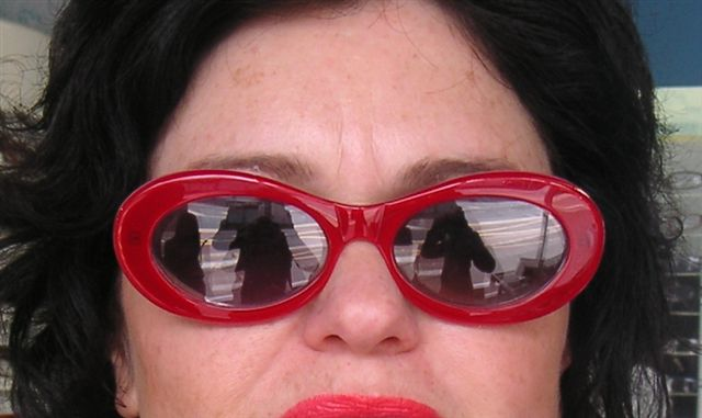 Funky Spex Audrey - made up as Sunnies